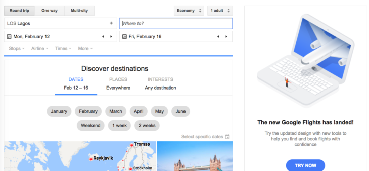 How I got a cheaper flight ticket through Google Flights